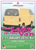 The Lady in Van Poster 200