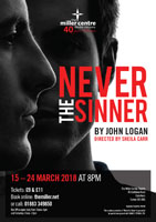 Never the Sinner poster